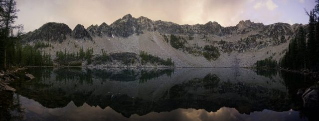 Upper Eagle Lake Sunset