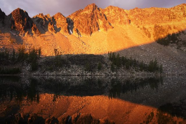 Upper Eagle Lake Sunrise