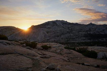Vogelsang Sunset