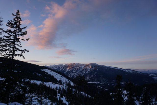 Nason Ridge Sunset