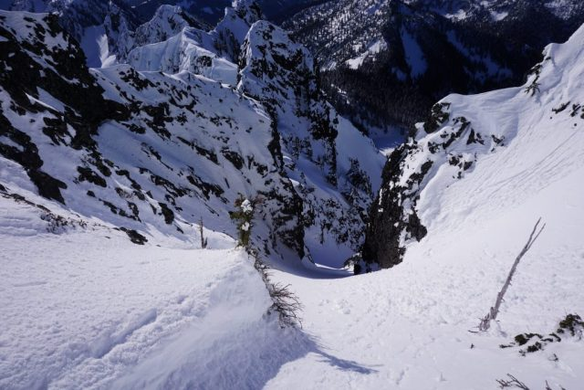 Chair Descent Gully