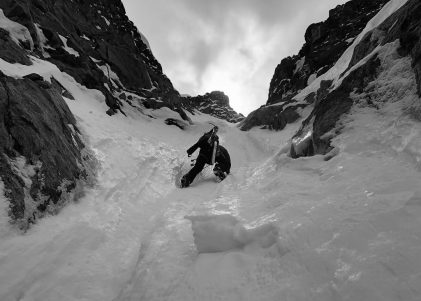 Ice Cliff Couloir