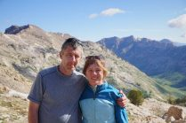 Kylie and John at Liberty Pass.