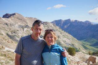 Kylie and John at Liberty Pass.
