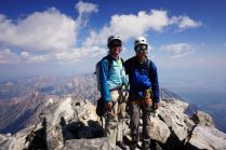 On top of the Tetons!