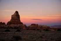 The start of another beautiful day in Canyonlands.