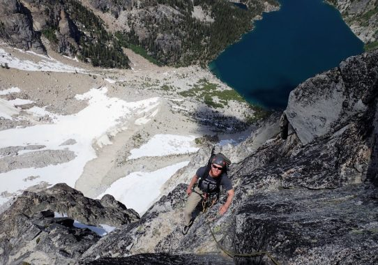 Dragontail Peak, Serpentine Arete (5.8)