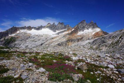 An alpine wonderland at Terror Basin Camp.