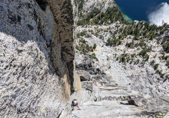 Prusik Peak, Stanley Burgner (5.10-)