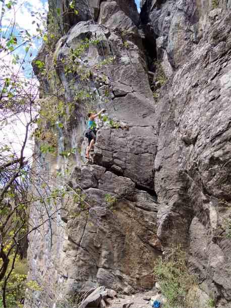 Klettergebiet los Pericos