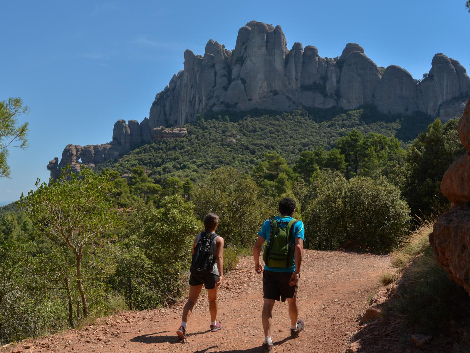 Travessa Agulles i Frares Encantats, Montserrat 3