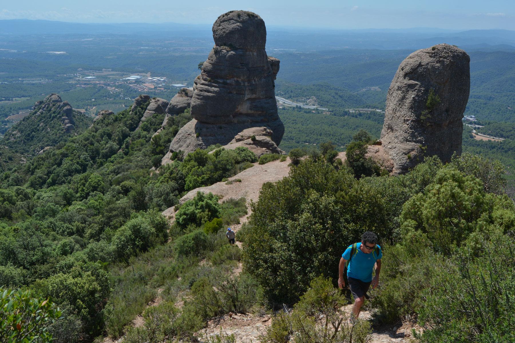 Travessa Agulles i Frares Encantats, Montserrat 7