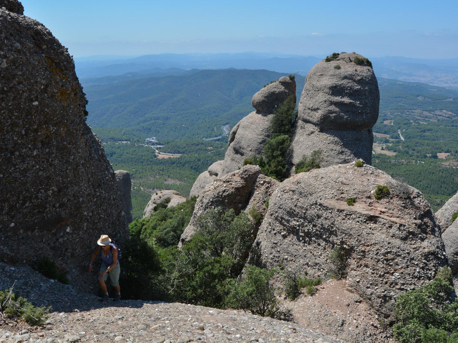 Travessa Agulles i Frares Encantats, Montserrat 12