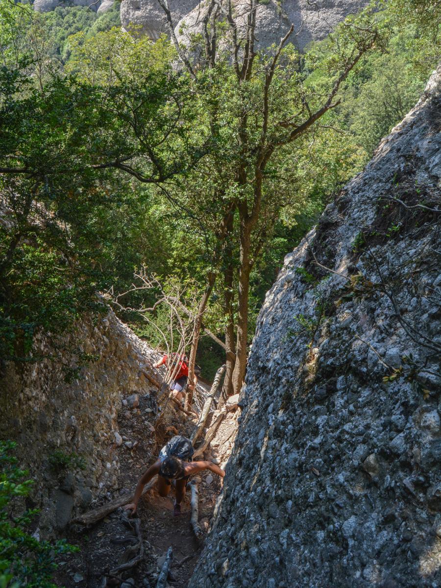 Travessa Agulles i Frares Encantats, Montserrat 26