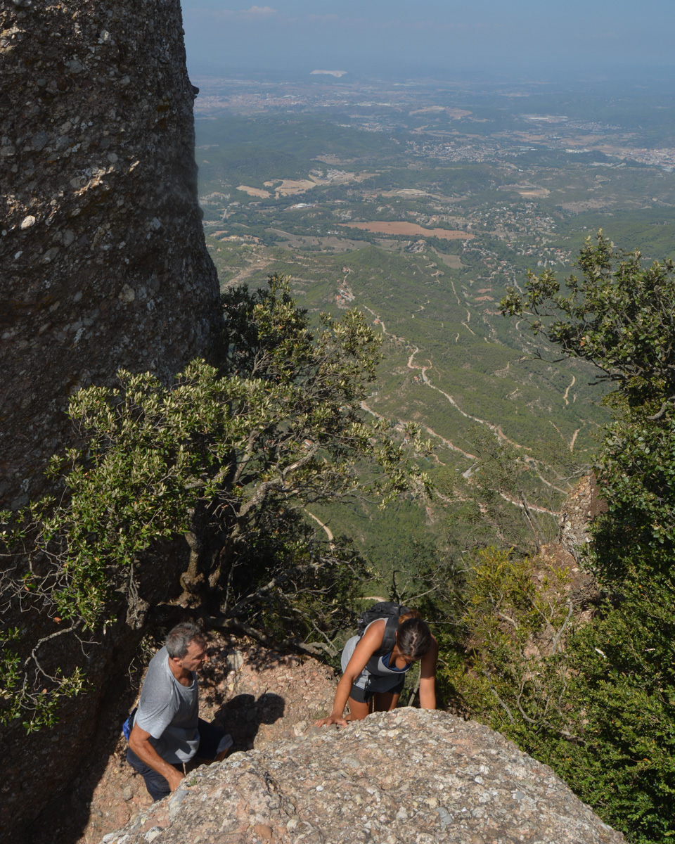 Travessa Agulles i Frares Encantats, Montserrat 30