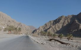Oman check point