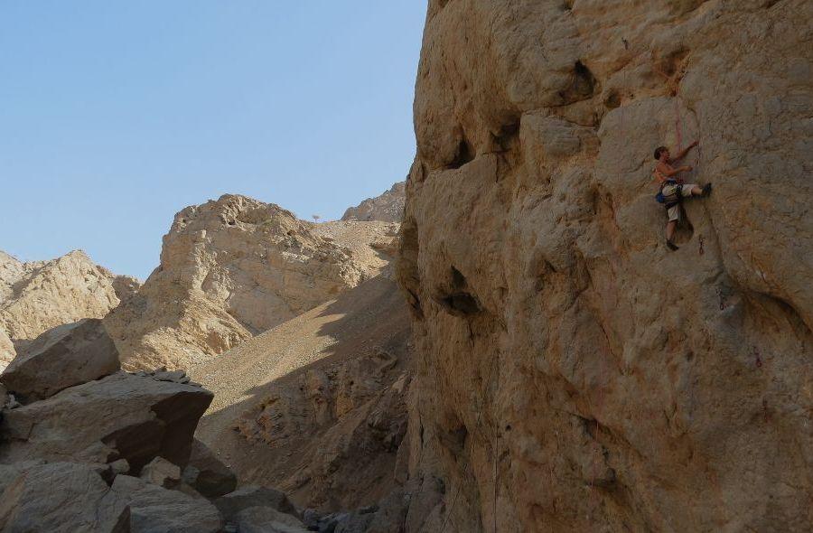 Tawyian Crag, Ras Al Khaimah, Émirats 2