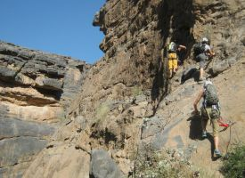 Snake canyon, Jebel Akhdar 66