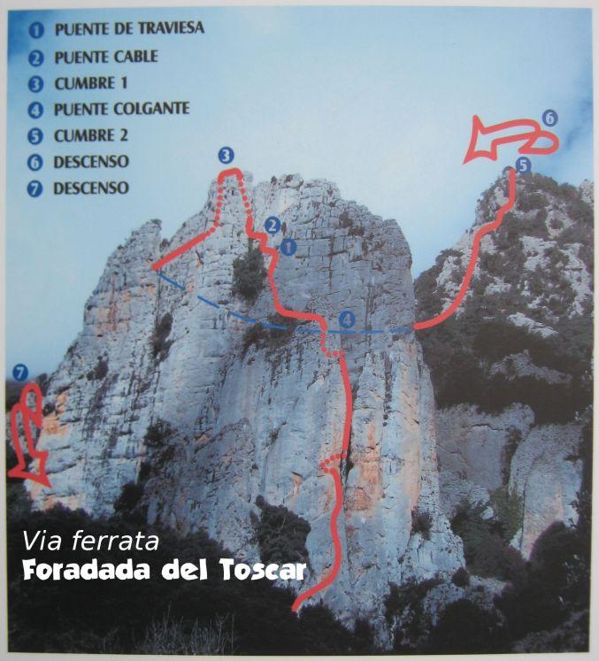 Foradada del Toscar, Aragon 2
