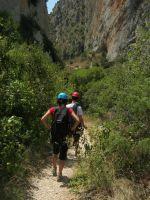 Asterix a la Peña del Santo Cristo, Olvena, Espagne 3
