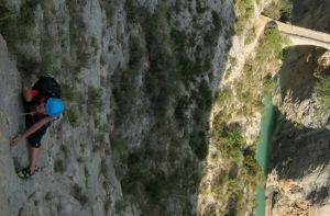 Asterix a la Peña del Santo Cristo, Olvena, Espagne 12