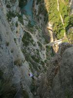 Asterix a la Peña del Santo Cristo, Olvena, Espagne 15