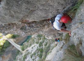 Asterix a la Peña del Santo Cristo, Olvena, Espagne 16