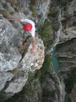 Asterix a la Peña del Santo Cristo, Olvena, Espagne 18
