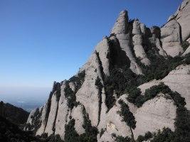 Via Cervera-Raül a la Talaïa Gran, Montserrat, Espagne 3