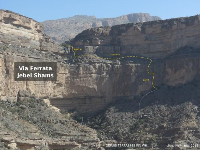 ferrat du Jebel Shams Topo