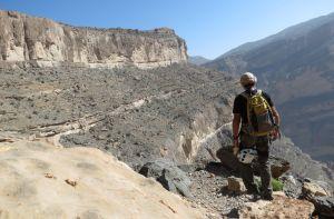 Ferrata du Jebel Shams, Jebel Akhdar 52