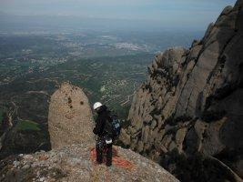 Via Cervera-Raül a la Talaïa Gran, Montserrat, Espagne 16