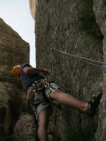 Serrat d'En Muntaner Cara Este, Montserrat, Espagne 3