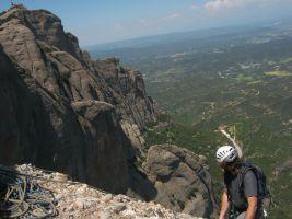 Punsola-Reniu al Cavall Bernat, Montserrat 28