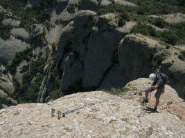 Punsola-Reniu al Cavall Bernat, Montserrat 30