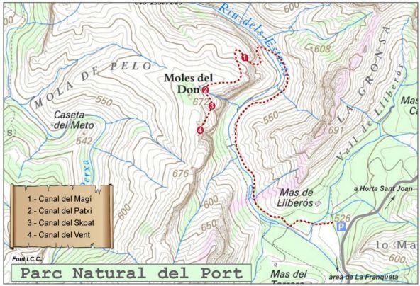Canal del Skpat, Els Ports 2