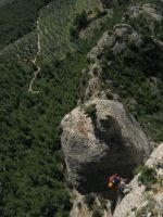 Abierto hasta el atardecer a la Serrat d'En Muntaner, Montserrat, Espagne 14