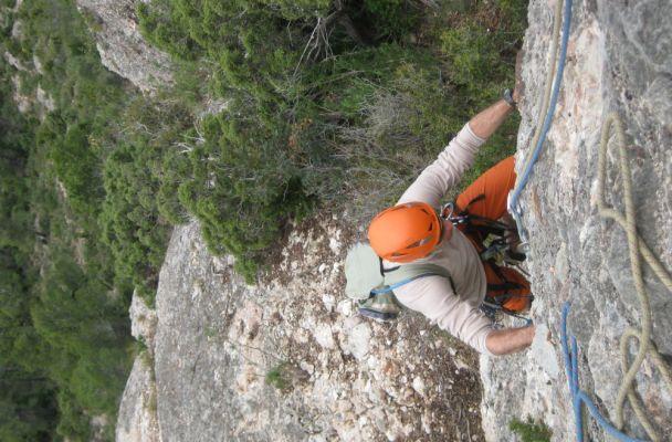 Abierto hasta el atardecer a la Serrat d'En Muntaner, Montserrat, Espagne 2