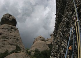 Ful de Sac al Setrill, Agulles, Montserrat, Espagne 7