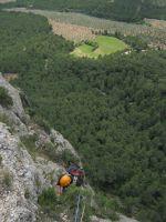 Abierto hasta el atardecer a la Serrat d'En Muntaner, Montserrat, Espagne 8
