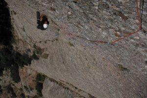 Easy Rider a la Paret de l'Aeri, Montserrat, Espagne 9