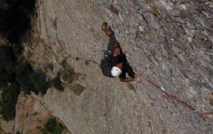 Easy Rider a la Paret de l'Aeri, Montserrat, Espagne 10
