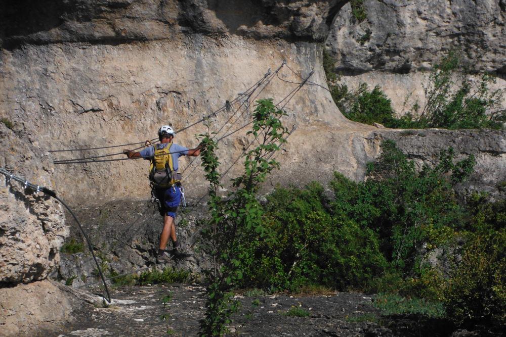 Ferrata de Liaucous, Aveyron 12