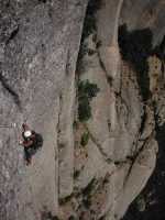 Easy Rider a la Paret de l'Aeri, Montserrat, Espagne 11