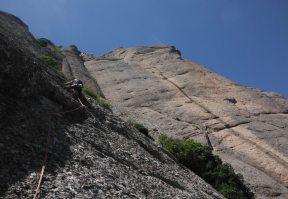 Easy Rider a la Paret de l'Aeri, Montserrat, Espagne 14