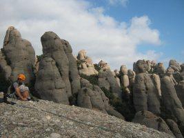 Montpart a la Miranda de las Boïgues, Montserrat, Espagne 19