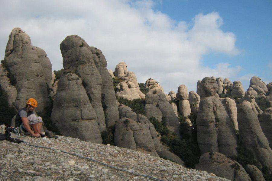 Montpart a la Miranda de las Boïgues, Montserrat, Espagne 2