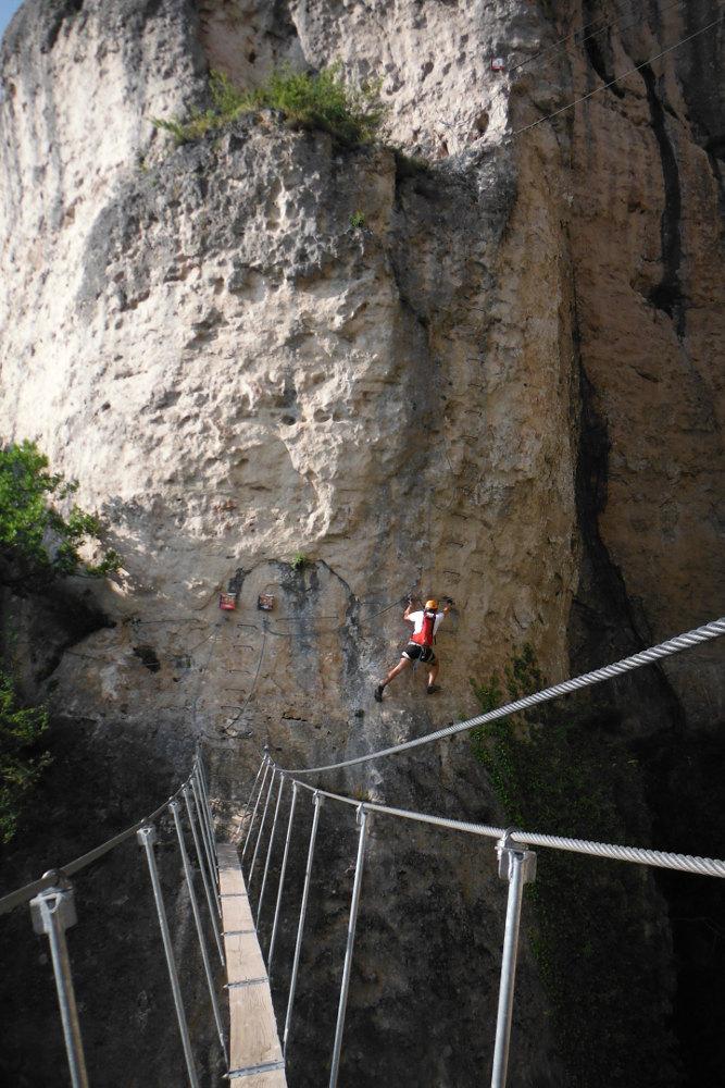 Ferrata de Liaucous, Aveyron 23