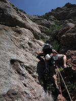 Via Africa a la Paret del Grau, Coll de Nargo, Espagne 5
