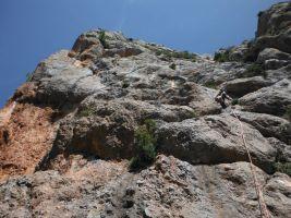 Via Africa a la Paret del Grau, Coll de Nargo, Espagne 6